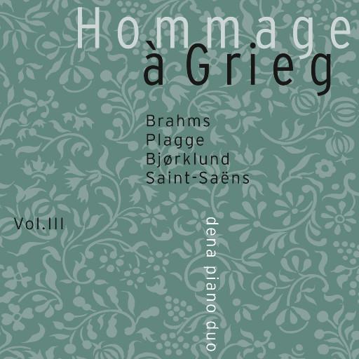 Hommage à Grieg vol. III (5.6MHz DSD),Dena Piano Duo
