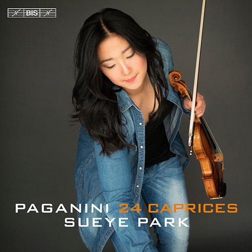 帕格尼尼:24首随想曲,Sueye Park