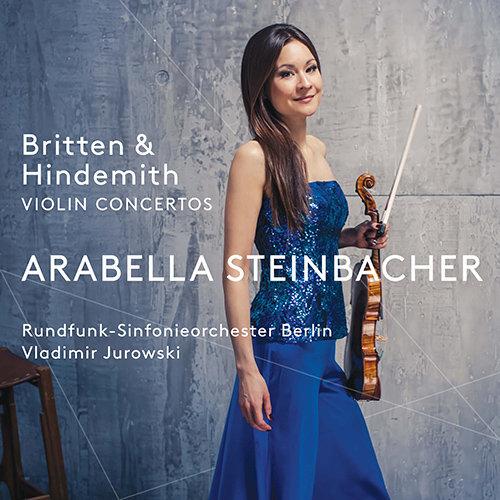 布里顿/亨德密特:小提琴协奏曲,Arabella Steinbacher