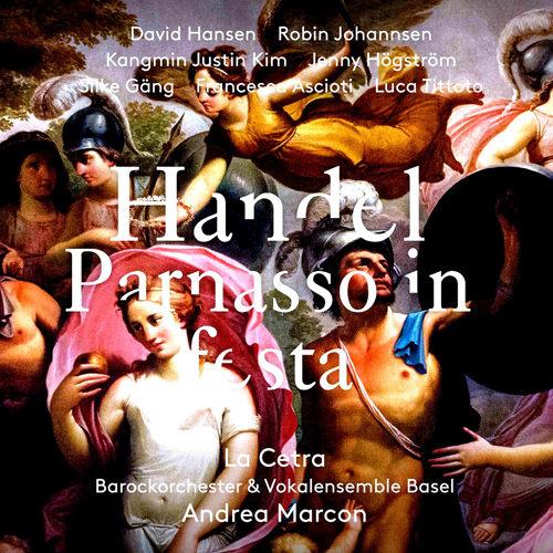 亨德尔:歌剧(2CD),D.Hansen,R.Johannsen,Kangmin Justin Kim,La Cetra Baroque Orchestra and Vocal Ensemble Basel,Marcon