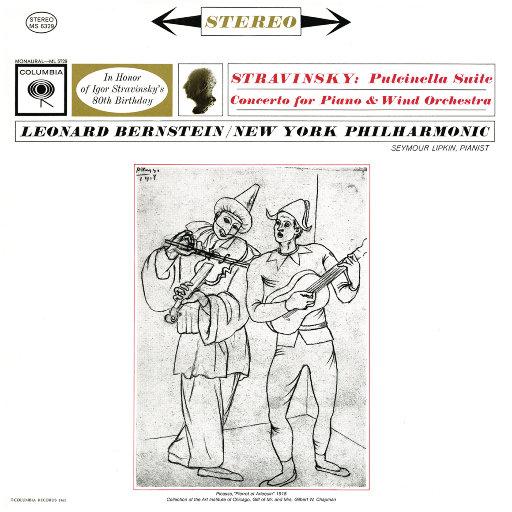 斯特拉文斯基:钢琴与风琴协奏曲 & 普钦奈拉组曲 (Remastered),Leonard Bernstein
