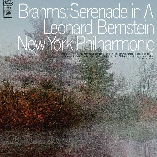 勃拉姆斯:A大调第二号小夜曲,Op.16 (Remastered),Leonard Bernstein