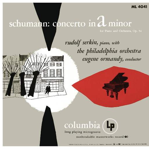 舒曼:A小调钢琴,管弦乐协奏曲,Op.54,Rudolf Serkin