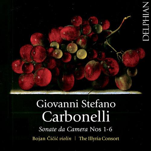 Carbonelli:室内奏鸣曲 No. 1-6,Bojan Čičić