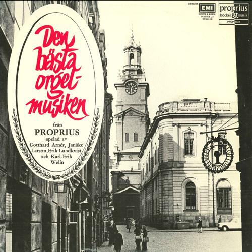 管风琴独奏专辑 -  Den bästa orgelmusiken,Gotthard Arnér