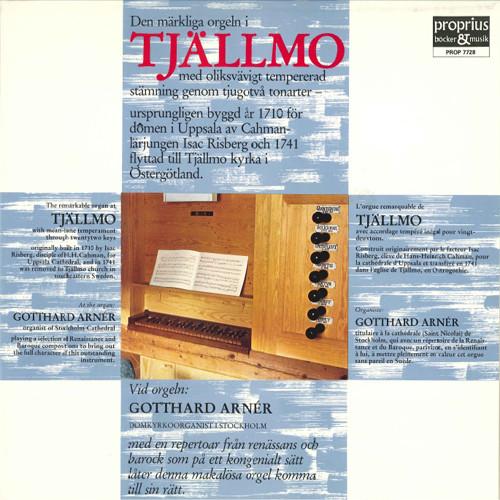 管风琴独奏专辑 - Tjällmo,Gotthard Arnér