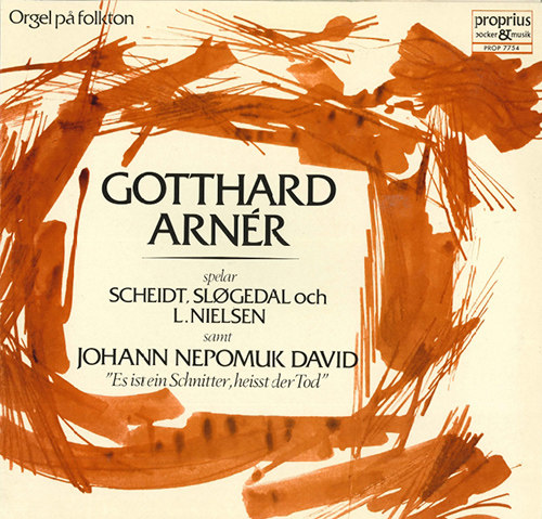 Gotthard Arnér:管风琴独奏 Vol.1,Gotthard Arnér
