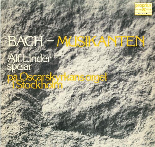 巴赫:管风琴音乐 (Alf Linder),Alf Linder