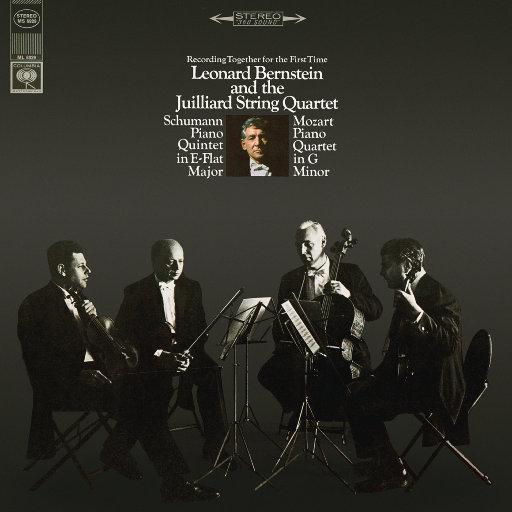 舒曼:降E大调钢琴五重奏 - 莫扎特:第一号钢琴四重奏 (Remastered),Leonard Bernstein