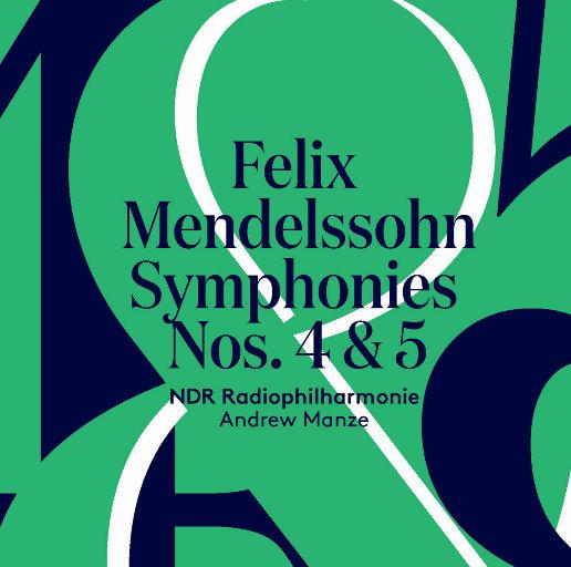 门德尔松:第四、第五交响曲,Andrew Manze