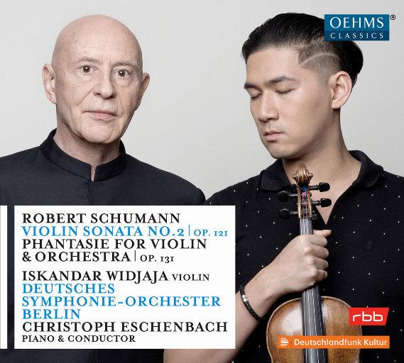 舒曼:第2号小提琴奏鸣曲&小提琴与乐队幻想曲,Christoph Eschenbach
