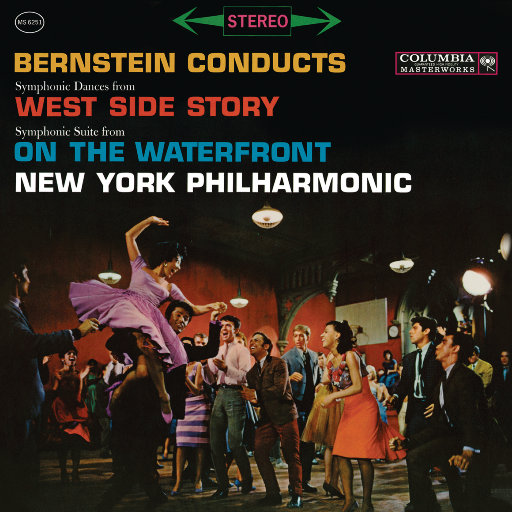 伯恩斯坦:《西区故事》交响舞曲、电影《码头风云》交响组曲,Leonard Bernstein