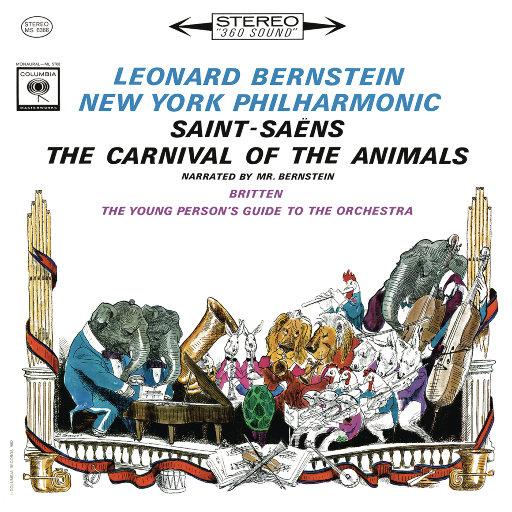 圣-桑:动物狂欢节 - 布里顿:青少年管弦乐队指南(Remastered),Leonard Bernstein