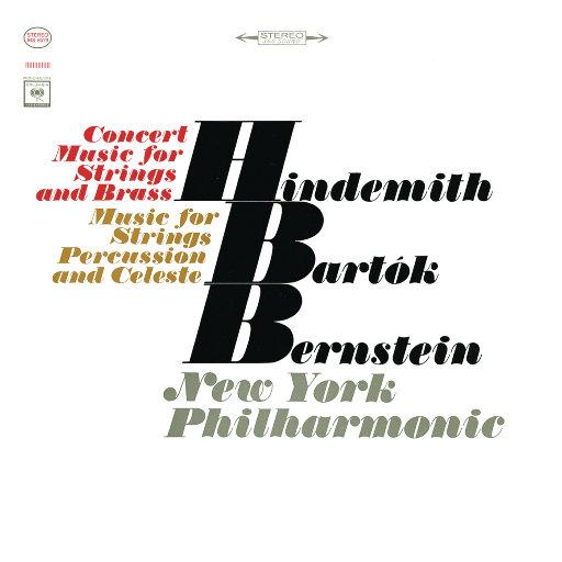 巴托克: 为弦乐、打击乐和钢片琴而作的音乐 - 亨德米特:弦乐与铜管音乐会曲(Remastered),Leonard Bernstein