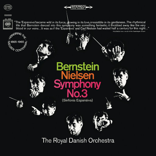 尼尔森:第三、第五交响曲(Remastered),Leonard Bernstein