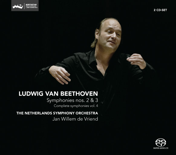 贝多芬交响曲 nos. 2 & 3 (交响全集 vol.4)(迪费恩德/荷兰交响乐团),Jan Willem de Vriend