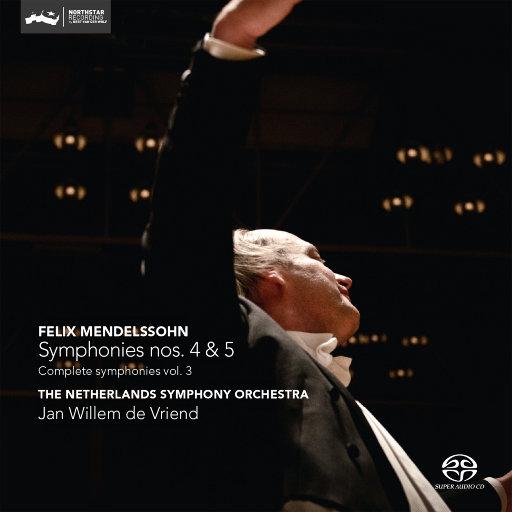 门德尔松:第四&五交响曲(迪费恩德/荷兰交响乐团)(2.8MHz DSD),Jan Willem de Vriend