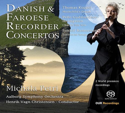 丹麦 & 法罗竖笛协奏曲,Michala Petri