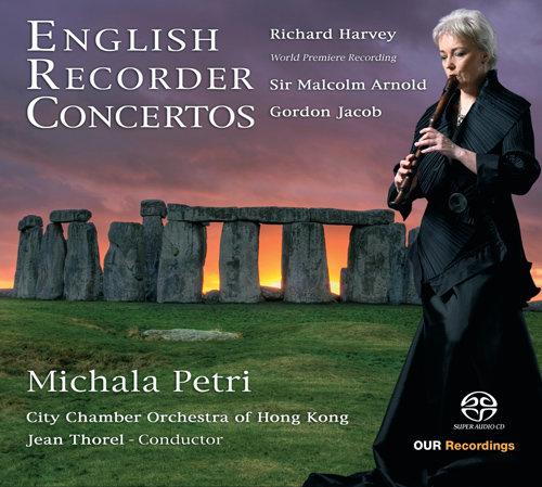 英国竖笛协奏曲,Michala Petri