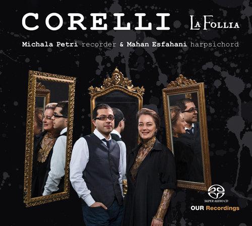 科莱里:La Folia (竖琴与大键琴改编) (352.8k DXD),Michala Petri