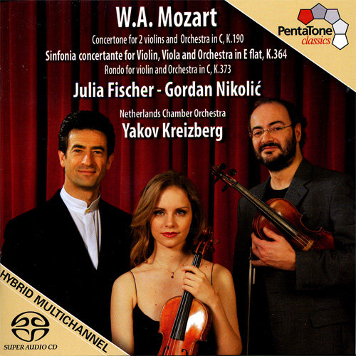 莫扎特:协奏曲交响曲,K.364 / 协奏曲,K.190 / 回旋曲,K.373,Julia Fischer