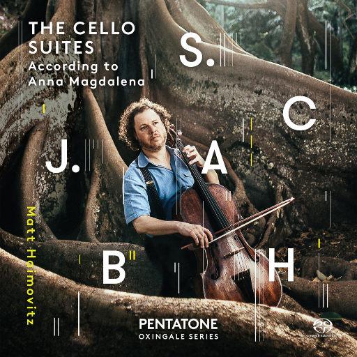 巴赫:大提琴组曲1-6号,BWV 1007-1012 (Haimovitz),Matt Haimovitz