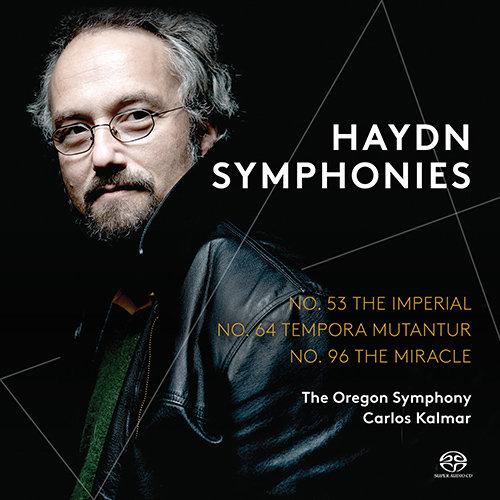 """海顿:交响曲第53号,""""帝国""""号,第64号,""""时代变迁""""和第96号,""""奇迹""""号 (俄勒冈交响乐团,卡尔玛),Carlos Kalmar"""