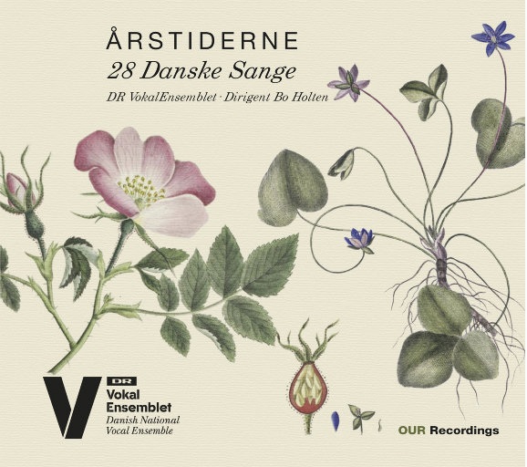 Årstiderne: 28 Danske Sange (28首丹麦歌曲)(352.8k DXD),Bo Holten, Danish National Vocal Ensemble