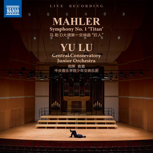 """马勒:D大调第一交响曲, """"巨人""""(352kHz/24bit),俞潞,中央音乐学院少年交响乐团"""