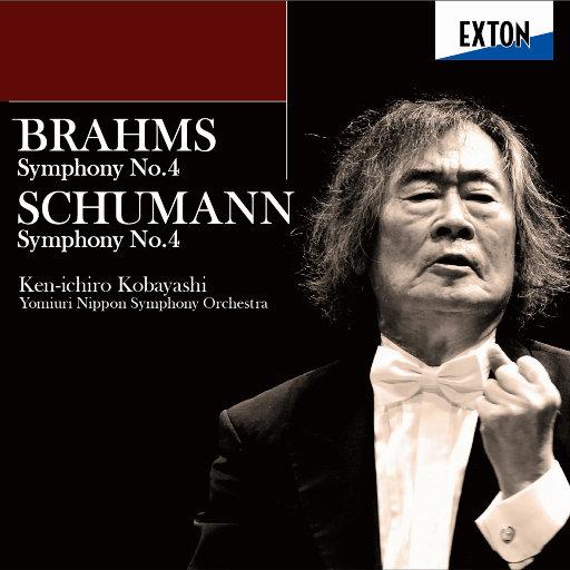 勃拉姆斯:第四交响曲,舒曼:第四交响曲(2.8MHz DSD),小林健一郎,Yomiuri Nippon Symphony Orchestra