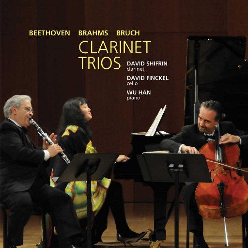 贝多芬/勃拉姆斯/布鲁赫:单簧管三重奏作品,David Shifrin,David Finckel,Wu Han