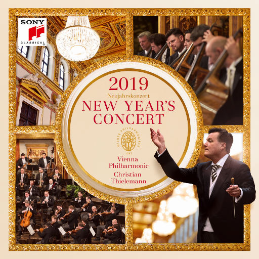 2019维也纳新年音乐会 (克里斯蒂安·蒂勒曼,维也纳爱乐乐团),Christian Thielemann,Wiener Philharmoniker