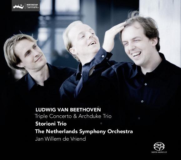 """贝多芬: 三重协奏曲 / """"大公""""三重奏(2.8MHz DSD),Storioni Trio"""