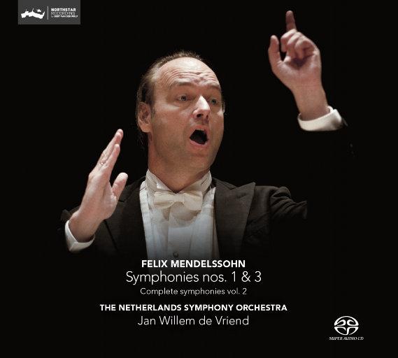 门德尔松: 第一、第三交响曲(2.8MHz DSD),Jan Willem de Vriend