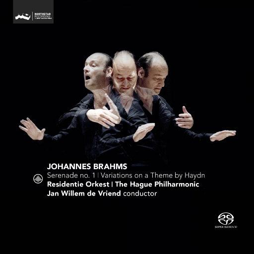 勃拉姆斯: 第一号小夜曲 / 海顿主题变奏曲(2.8MHz DSD),Jan Willem de Vriend