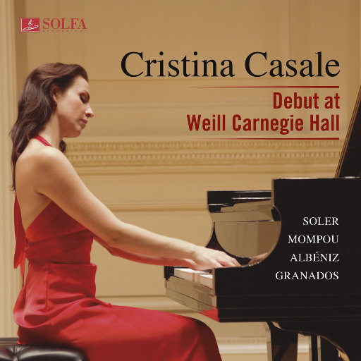 Debut at Weill Carnegie Hall,Cristina Casale