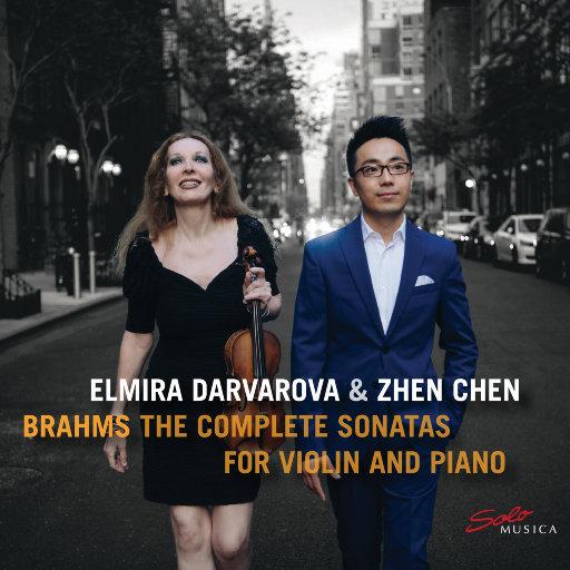 勃拉姆斯: 小提琴与钢琴奏鸣曲全集,Elmira Darvarova,陈震