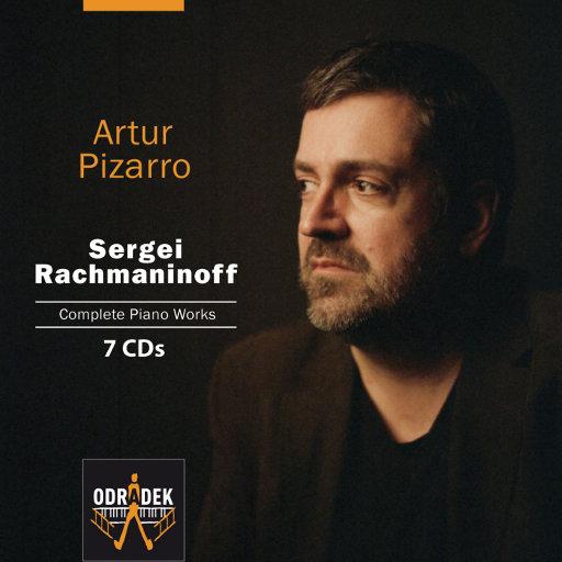 [套盒] 拉赫玛尼诺夫钢琴作品全集 [7 discs] ,Artur Pizarro