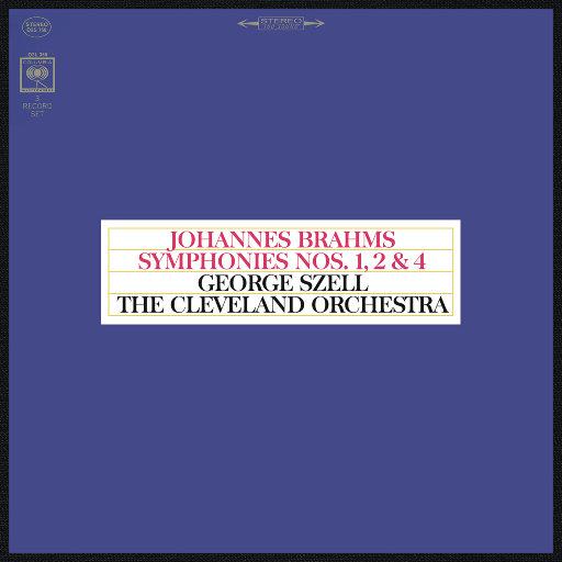 勃拉姆斯: 第一, 二 & 四交响曲 (Remastered),George Szell