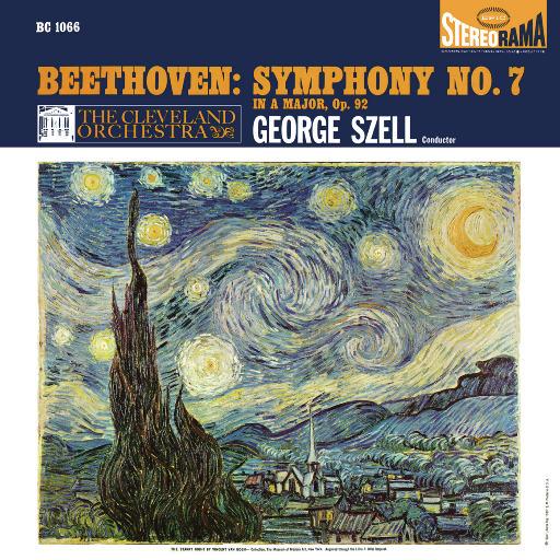 贝多芬: A大调第七交响曲, Op. 92 (Remastered),George Szell