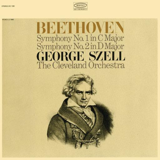 贝多芬: 第一 & 第二交响曲 (Remastered),George Szell