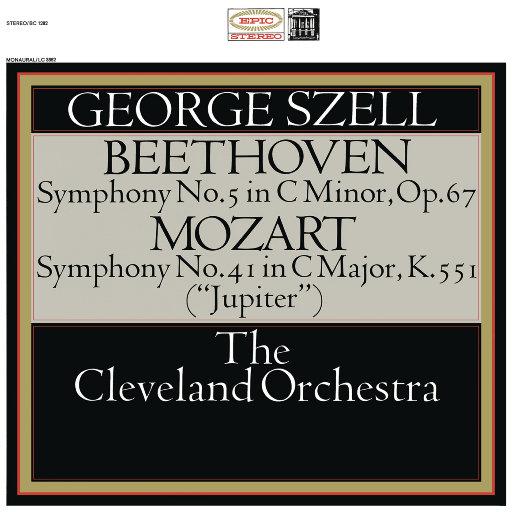 贝多芬: 第五交响曲, Op. 67 & 莫扎特: 第四十一交响曲, K. 552 (Remastered),George Szell