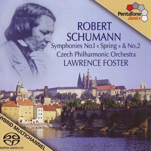 舒曼: 第一、第二交响曲 (捷克爱乐乐团, 福克斯),LawrenceFoster
