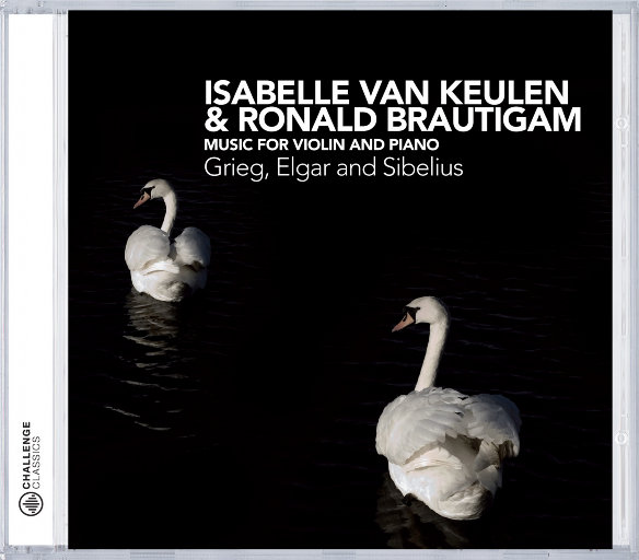 小提琴与钢琴音乐 (Music for Violin & Piano) [2.8MHz DSD],Isabelle van Keulen, Ronald Brautigam