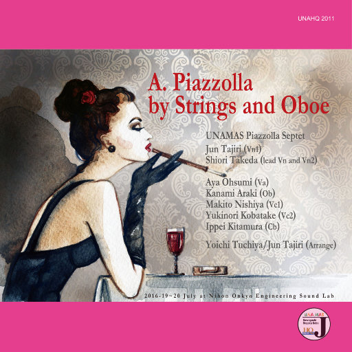A.Piazzolla by Strings and Oboe (5.1CH),UNAMAS Piazzolla Septet