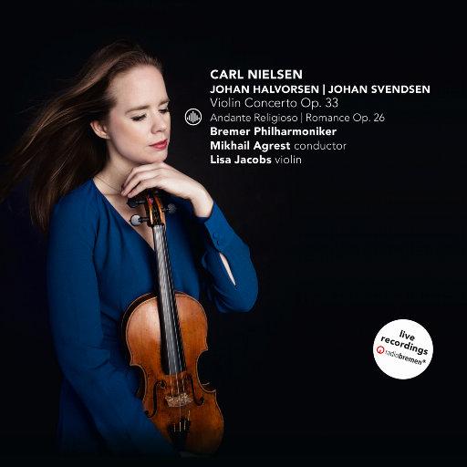尼尔森: 小提琴奏鸣曲 Op. 33 /霍尔沃森: 虔诚的行板 /斯文森: 浪漫曲 Op. 26,Lisa Jacobs,Bremer Philharmoniker,Mikhail Agrest