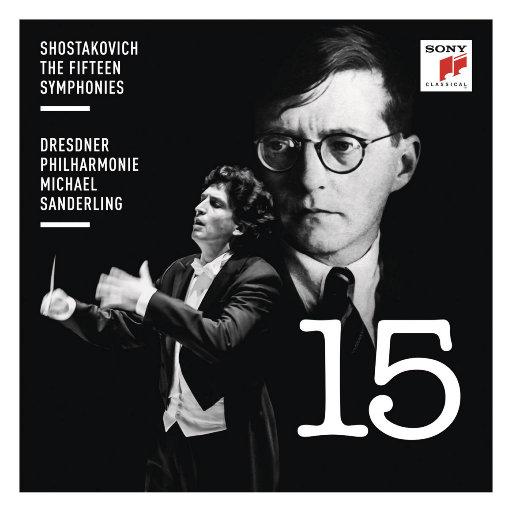 [套盒] 肖斯塔科维奇: 交响曲全集 (迈克尔·桑德林) [11 discs],Michael Sanderling,Dresdner Philharmonie