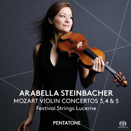 莫扎特: 第三、第四、第五号小提琴协奏曲,Arabella Steinbacher