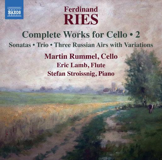 里斯: 大提琴作品全集 (Vol. 2),Martin Rummel,Eric Lamb,Stefan Stroissnig