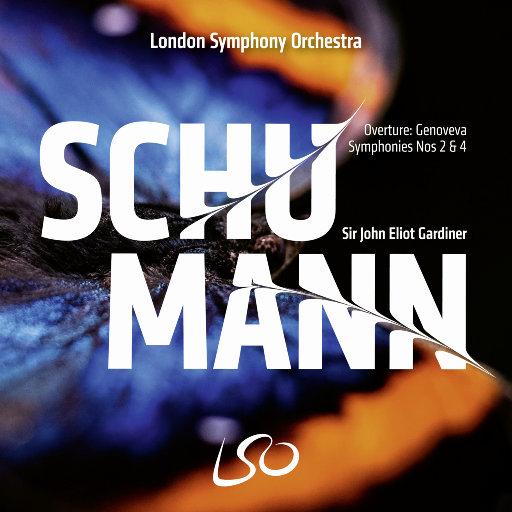 舒曼: 第二 & 第四交响曲,London Symphony Orchestra,Sir John Eliot Gardiner